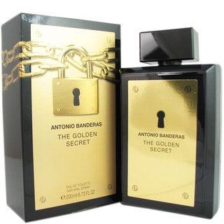 Antonio Banderas The Golden Secret Men's 6.75-ounce Eau de Toilette Spray|https://ak1.ostkcdn.com/images/products/9627199/P16813094.jpg?_ostk_perf_=percv&impolicy=medium