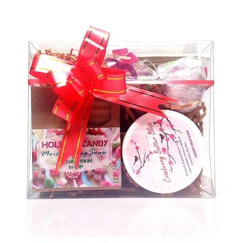 Handmade Holiday Candy Bliss Spa Gift Set