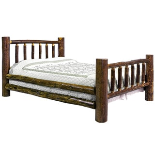Montana Woodworks Glacier Country Collection Queen Stain/ Lacquer Finish Wood Bed