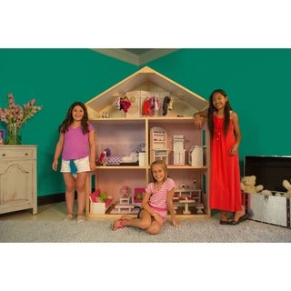 Link to My Girl's Country French Dollhouse Similar Items in Play Sets