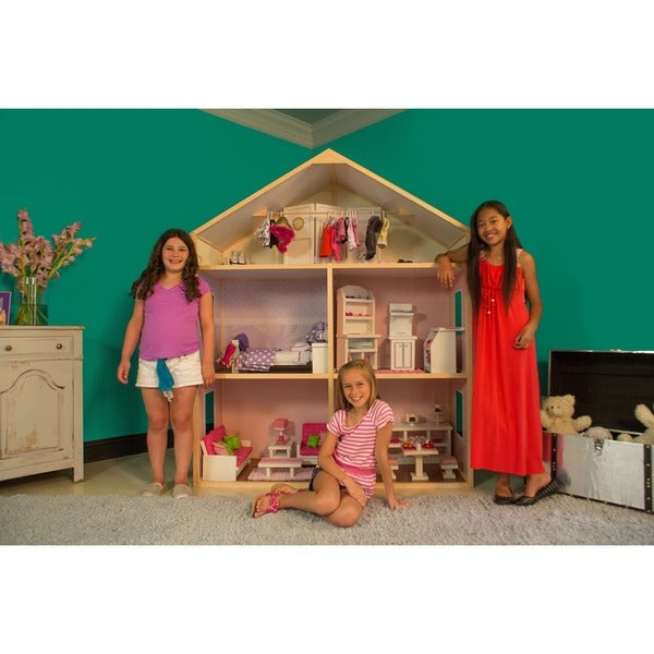 My Girl's Country French Dollhouse