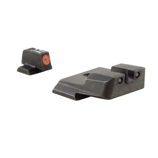 Trijicon HD Night Sights Smith and Wesson M and P Shield Orange Front Outline