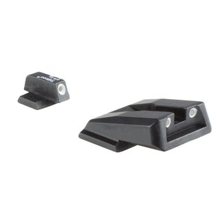 Trijicon HD Night Sights, Smith and Wesson M and P Shield Front Outline