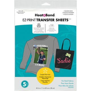"Heat'n Bond EZ Print Transfer Sheet-8.5""X11"" 5/Pkg"