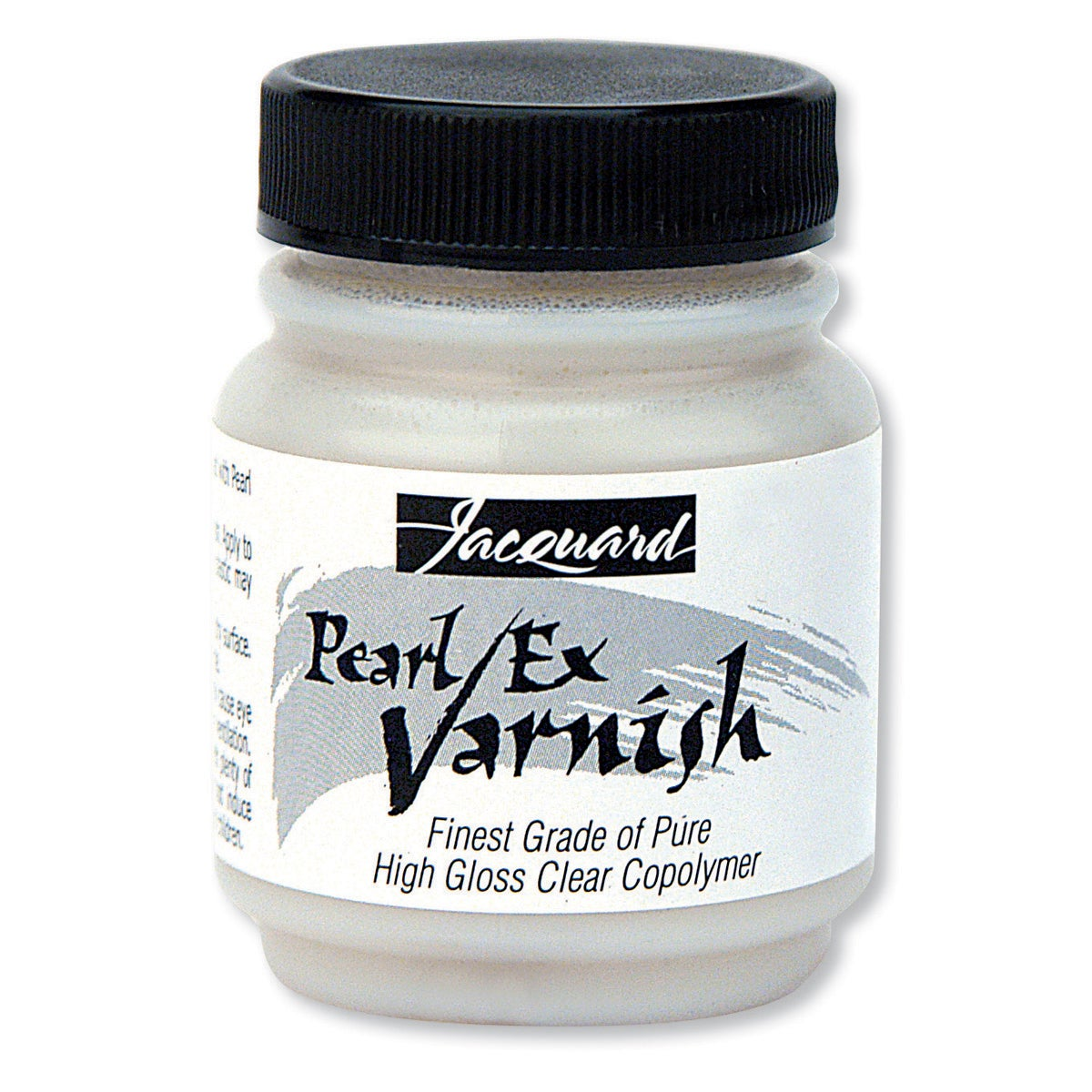 Jacquard Pearl (White) Ex Varnish 2.25oz-Clear (Clear)