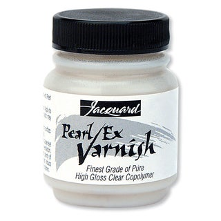 Jacquard Pearl Ex Varnish 2.25oz-Clear