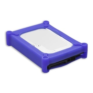 IOCrest Blue Silicon Storage Kit for 3.5-inch IDE/SATA HD scratch & bump free