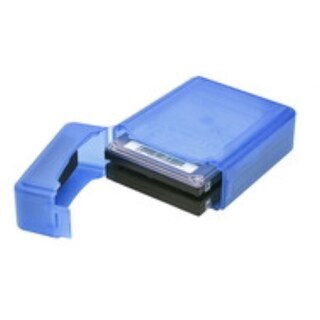 Syba Blue Plastic Storage Box for 2.5-inch HDD Fit 1 HDD Dust-proof Anti-Static