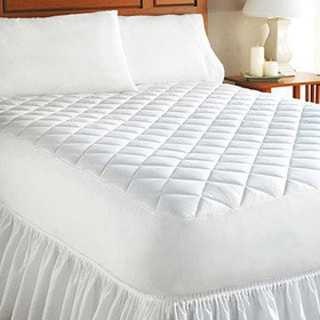 Super Soft Fitted Mattress Pad