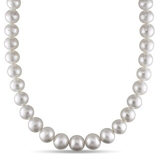 Miadora Signature Collection 14k White Gold South Sea Pearl and Diamond Accent Necklace (11-14 mm)|https://ak1.ostkcdn.com/images/products/9627497/P16813385.jpg?_ostk_perf_=percv&impolicy=medium