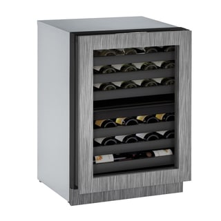 U-Line 3000 Series 3024ZWC 24 Inch Dual Zone Integrated Wine Captain