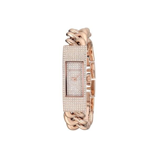 ec7a8c7e7784 Shop Michael Kors Women s MK3307 Hayden Rose Goldtone Glitz Watch ...