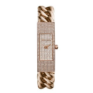 Michael Kors Women's MK3307 Hayden Rose Goldtone Glitz Watch