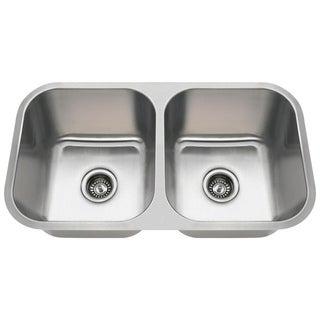 MR Direct 3218A Undermount Stainless Steel Kitchen Sink
