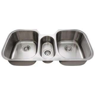 4521 Triple Bowl Stainless Steel Kitchen Sink