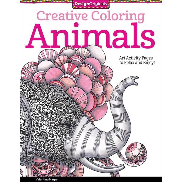 Design Originals-Creative Coloring: Animals
