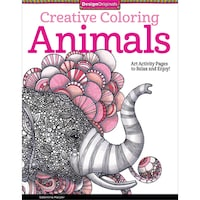 Design Originals Creative Coloring Animals