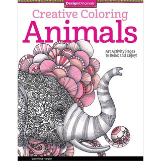 Design Originals-Creative Coloring: Animals