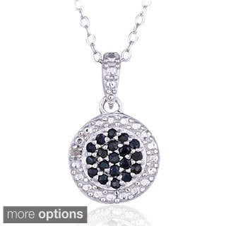 Glitzy Rocks Silver Precious Gemstone Necklace