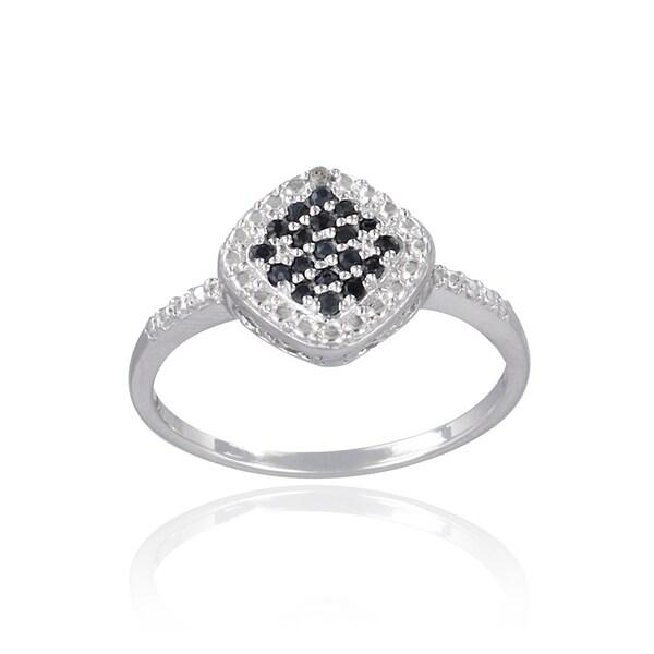 Glitzy Rocks Silver Precious Gemstone Ring. Opens flyout.