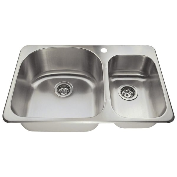 T3121L Topmount Offset Stainless Steel Kitchen Sink