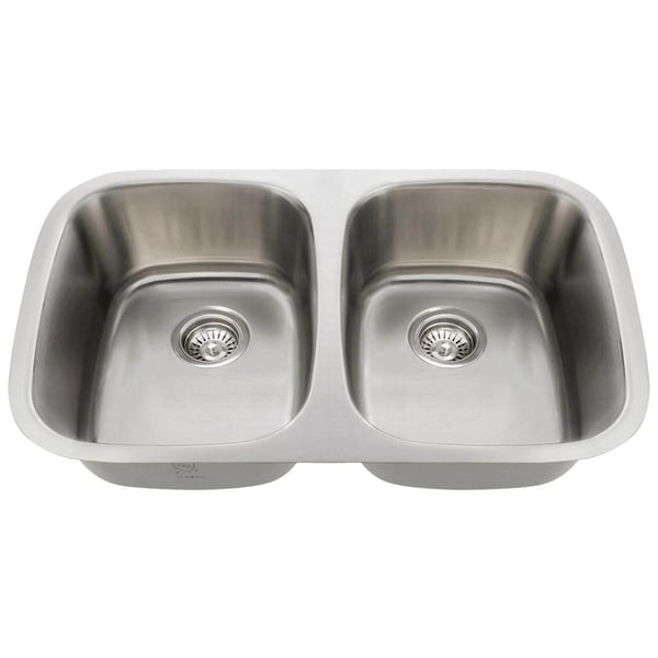 510 Equal Double Bowl Stainless Steel Sink