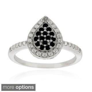 Glitzy Rocks Silver Precious Gemstone Ring