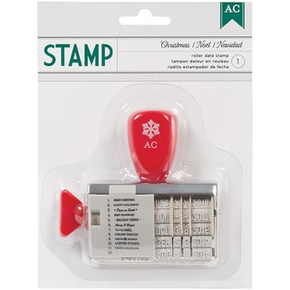 Christmas Roller Date Stamp