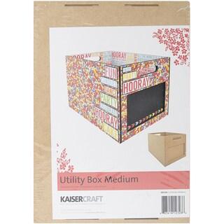 "Beyond The Page MDF Medium Utility Box-13.5""X10""X9.5"""