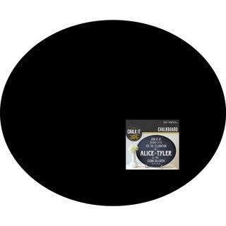 Chalk It Now Chalkboard-Large Oval