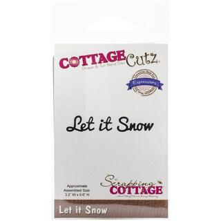 CottageCutz Expressions Die-Let It Snow