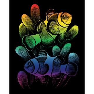 "Rainbow Foil Engraving Art Kit 8""X10""-Clownfish"