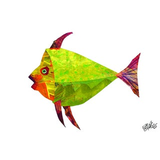Eric Carle 'The Tiny Seed Character Art Fish' Children's Canvas Art