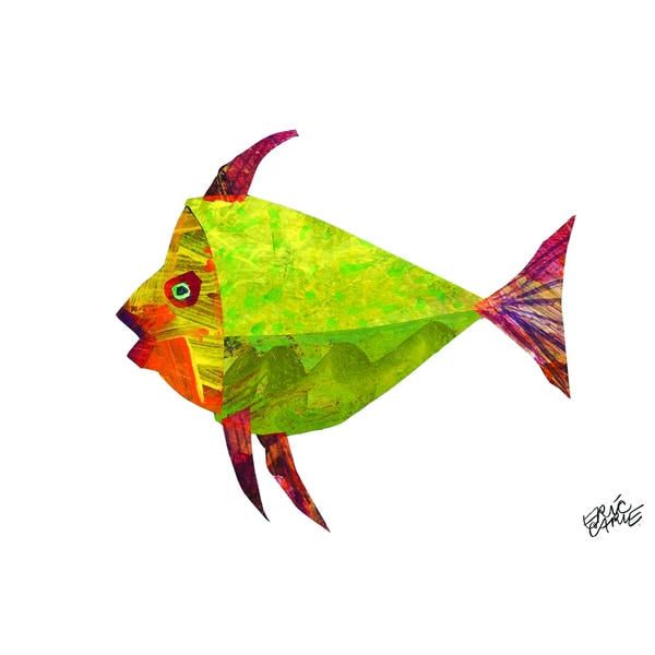 shop eric carle the tiny seed character art fish children s canvas