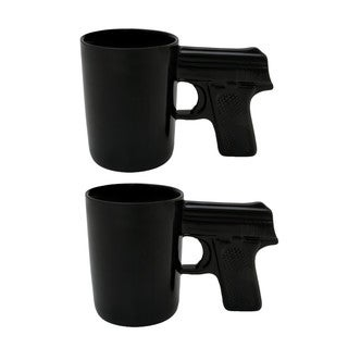 AGS Black Pistol Mugs (Pack of 2)