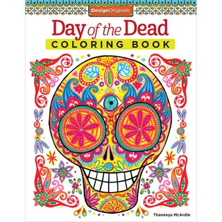 Design Originals Day Of The Dead Coloring Book