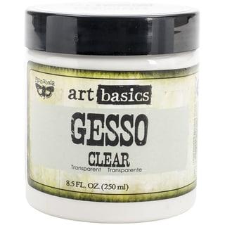 Art Basics Gesso 8.5oz-Clear