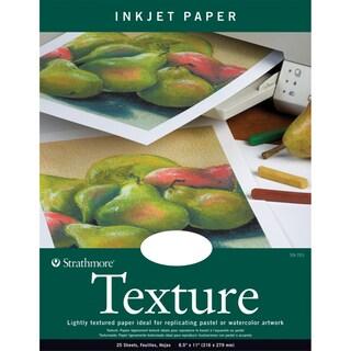 Strathmore Inkjet Paper Texture 8.5X11-80lb 25 Sheets