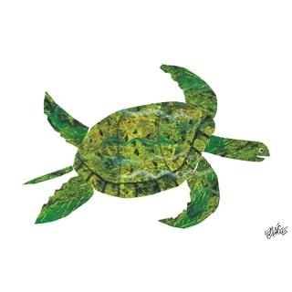Eric Carle 'Panda Bear Character Art Turtle' Canvas Art