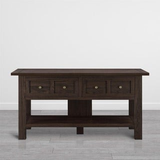 Ameriwood Home Pillars Apothecary 55-inch TV Stand/ Console Table