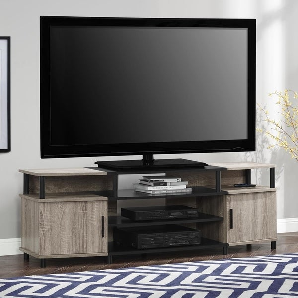 ameriwood home carson 70inch tv stand