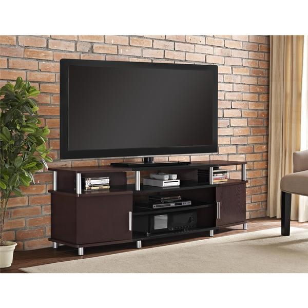Shop Avenue Greene Ford Cherry Tv Stand For Tvs Up To 70 Inches