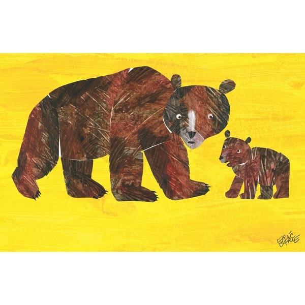 shop eric carle baby bear character art mama bear 2 children s