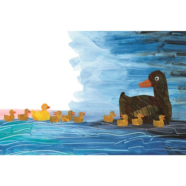 10 Little Rubber Ducks Character Art Ducklings 2 Canvas Art by Eric Carle