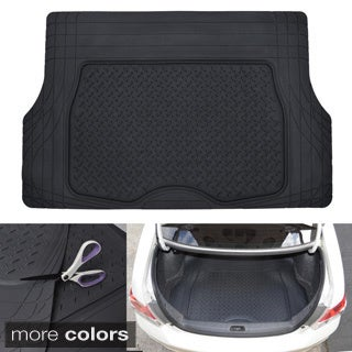 Motor Trend Medium Cargo Trunk Odorless Trimmable Rubber Mat
