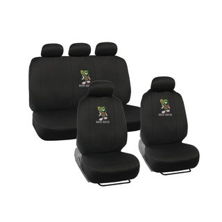 Warner Brothers Marvin Car Seat Covers with Steering Wheel Cover and Belt Pads