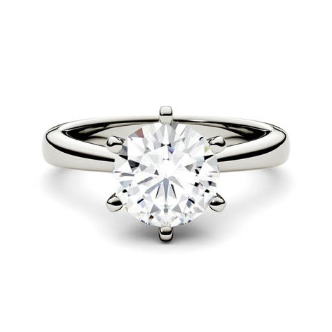 Buy Moissanite Rings Online at Overstock | Our Best Rings Deals