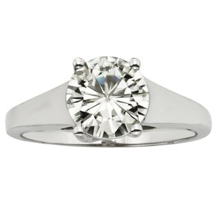 Charles & Colvard 14k Gold 1.90 TGW Round Forever Brilliant Moissanite Solitaire Ring|https://ak1.ostkcdn.com/images/products/9629008/P16814691.jpg?_ostk_perf_=percv&impolicy=medium