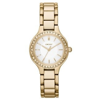 DKNY Women's NY2221 Chambers Gold Tone Watch