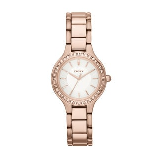DKNY Women's NY2222 Chambers Rose Tone Watch